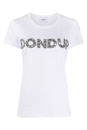 Cotton t-shirt with embroidery DONDUP | 8 | S007JS0241DZB9DD000