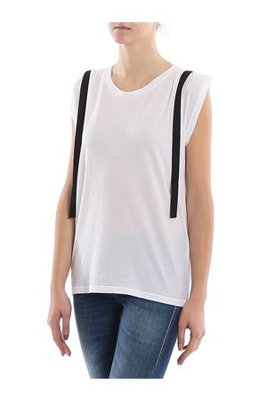 RIBBONS DETAILED TANK TOP DONDUP | 8 | S825JF0254DPTRDD000