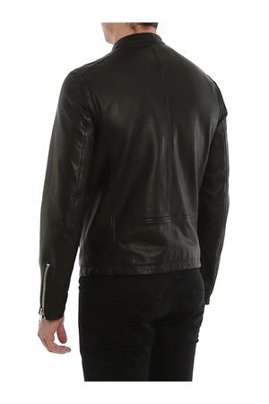Nappa leather biker jacket DONDUP | 3 | UJ712PL0236UXXXDU999
