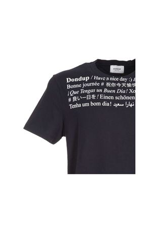 Cotton t-shirt with lettering DONDUP | 8 | US198JF0234UZA6DU890