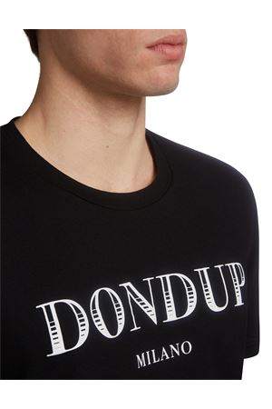 Cotton t-shirt with logo DONDUP | 8 | US198JF0234UZA9DU999