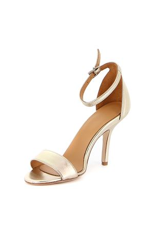 METALLIC LEATHER SANDALS DONDUP | 5032241 | WS179Y00708DXXXDD956C
