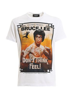 T-Shirt Bruce Lee S71GD0900S22507100 DSQUARED2 | 8 | S71GD0900S22507100