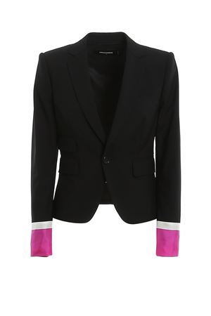 Tropical Stretch Wool Cropped Los Angeles Blazer DSQUARED2 | 3 | S72BN0593S40320900