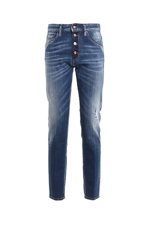 Skinny Dan destroyed denim jeans DSQUARED2 | 24 | S72LB0287S30342470