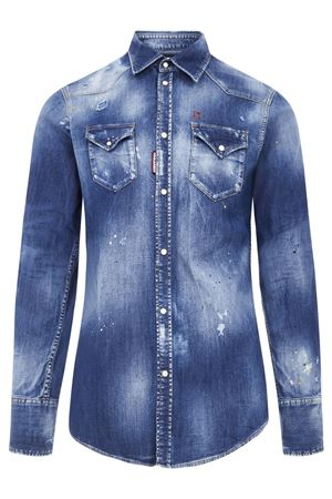 Camicia denim S74DM0392S30341470 DSQUARED2 | 6 | S74DM0392S30341470