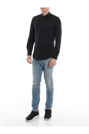 Camicia nera in puro cotone S74DM0396S44131900 DSQUARED2 | 6 | S74DM0396S44131900
