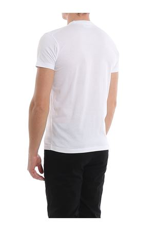 T-Shirt bianco in cotone con stampa del logo S74GD0635S22427963X DSQUARED2 | 8 | S74GD0635S22427963X