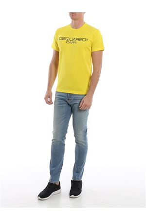 T-Shirt DSquared2 Capri gialla S74GD0643S22844174 DSQUARED2 | 8 | S74GD0643S22844174