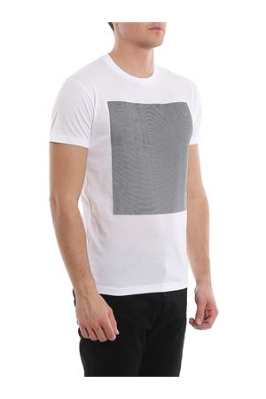 T-shirt con stampa catarifrangente S74GD0646S22427100 DSQUARED2 | 8 | S74GD0646S22427100
