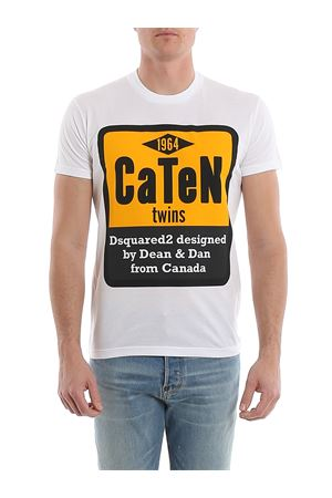 Caten Twins T-Shirt DSQUARED2 | 8 | S74GD0652S22427100