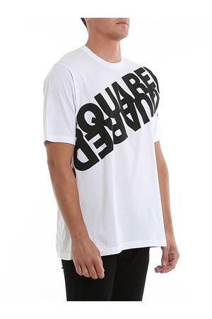 Oversized logo jersey cotton T-shirt DSQUARED2 | 8 | S74GD0664S22427963X