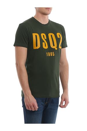 T-shirt in jersey con stampa DSquared2 1995 S74GD0686S21600727 DSQUARED2 | 8 | S74GD0686S21600727