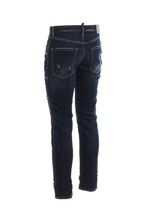 Jeans Sexy Mercury con macchie di pittura S74LB0678S30664470 DSQUARED2 | 24 | S74LB0678S30664470