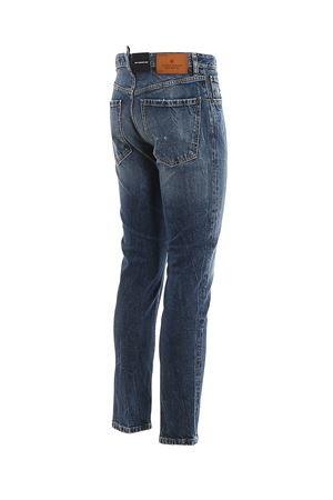Jeans Sexy Mercury in denim effetto vintage S74LB0682S30667470 DSQUARED2 | 24 | S74LB0682S30667470
