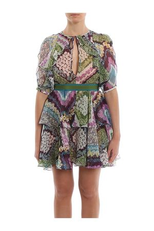 Floral printed silk georgette Delilah dress DSQUARED2 | 11 | S75CV0181S52496001S
