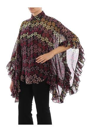Camicia Lilou in stile poncho a fiori S75DL0690S52499001S DSQUARED2 | 6 | S75DL0690S52499001S