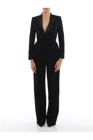 Oscar black viscose crepe jumpsuit DSQUARED2 | 19 | S75FP0097S48427900
