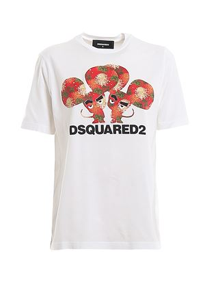 Logo printed jersey T-shirt