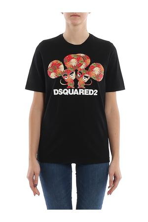 Logo printed jersey T-shirt DSQUARED2 | 8 | S75GD0079S22427900