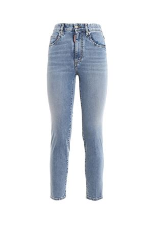 Cropped high rise jeans DSQUARED2 | 24 | S75LB0300S30595470