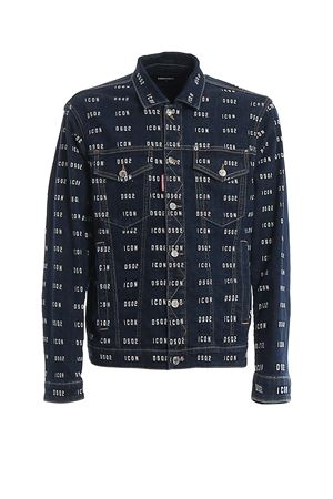 Icon print denim jacket DSQUARED2 | 3 | S79AM0003S30342470