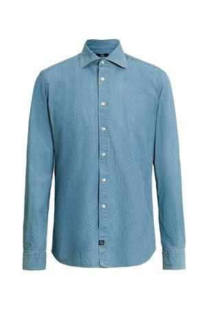 camicia collo francese lavata denim NCMA140115LRSXU207 FAY | 6 | NCMA140115LRSXU207