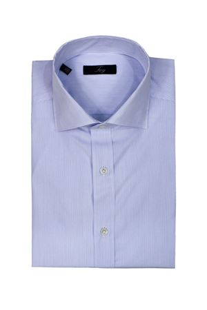 Striped cotton poplin shirt FAY | 6 | NCMA1402590QCSU002