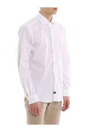 Camicia stretch collo francese NCMA140259S0RMB001 FAY | 6 | NCMA140259SORMB001