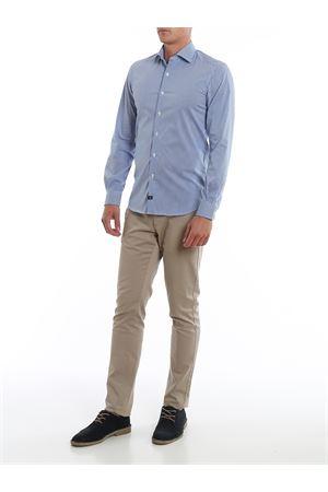 camicia collo francese stretch NCMA140259SRSOU600 FAY | 6 | NCMA140259SRSOU600
