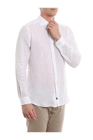 Camicia bianca in lino NCMA140259THTKB001 FAY | 6 | NCMA140259THTKB001