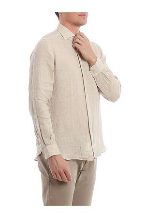 Camicia beige in lino NCMA140259THTKC008 FAY | 6 | NCMA140259THTKC008