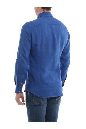 Camicia blu in lino NCMA140259THTKU200 FAY   6   NCMA140259THTKU200