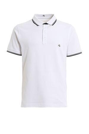 Polo bianca con ricamo logo NPMB240140SITOB001 FAY | 2 | NPMB240140SITOB001