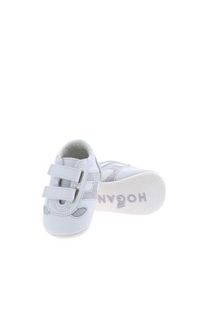 WHITE AND GRAY OLYMPIA SHOES HOGAN | 5032238 | HXB0520Z330KI575TF