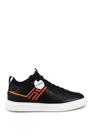H365 fluo detailed black sneakers HOGAN | 5032238 | HXM3650BN00KN99999