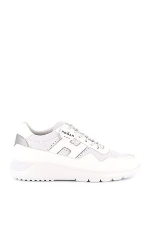 Interactive³ leather and nubuck sneakers HOGAN | 5032238 | HXM3710BR34N5R0351
