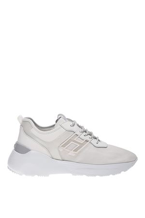 ACTIVE ONE WHITE MESH AND LEATHER SNEAKERS HOGAN | 5032238 | HXM4430BU70N0T0518
