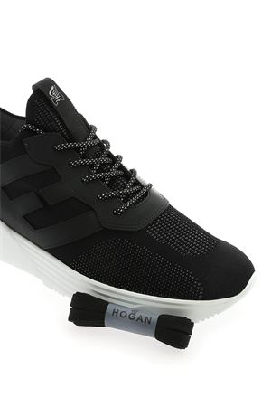 H443 SNEAKERS IN BLACK HOGAN | 5032238 | HXM4430CM50DWMB999