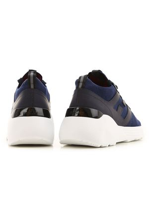 H443 SNEAKERS IN BLUE HOGAN | 5032238 | HXM4430CM50DWMU810