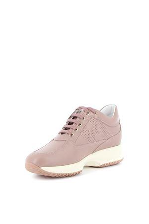 Interactive pearly leather sneakers HOGAN | 5032238 | HXW00N00E30MVGM033