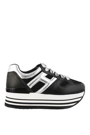 Maxi H222 Black and Silver HOGAN | 5032238 | HXW2830U352N8C0353