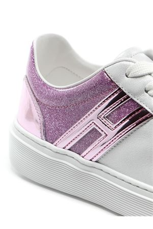 Sneakers H365 White and Pink HOGAN | 5032238 | HXW3650J970N5Q239M