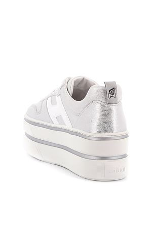 Sneakers H449 Silver and White HOGAN | 5032238 | HXW4490BS00N1R0906