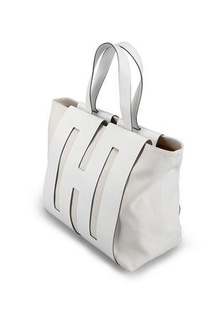 Shopper Bi-Bag in pelle KBW01500400KSUB001 HOGAN | 5032266 | KBW015O0400KSUB001