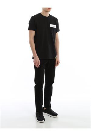 T-shirt Nera KQMB3402180RTMB999 HOGAN | 8 | KQMB3402180RTMB999