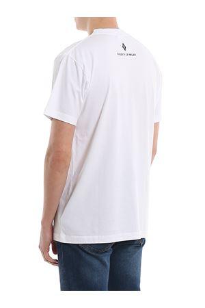 COM MULTICOLOUR PRINT WHITE T-SHIRT MARCELO BURLON | 8 | CMAA018R20JER0150155