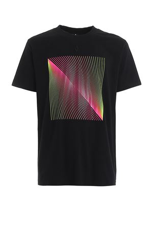 T-shirt con stampa ottica fluo CMAA018R20JER0201065 MARCELO BURLON   8   CMAA018R20JER0201065