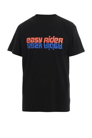 T-SHIRT NERA CON STAMPA EASY RIDER CMAA018S20JER0061020 MARCELO BURLON | 8 | CMAA018S20JER0061020