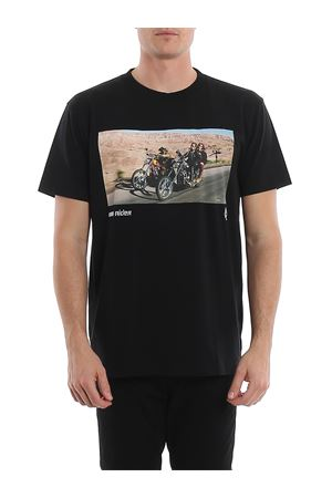 T-shirt nera in jersey con stampa Easy Rider CMAA018S20JER0071084 MARCELO BURLON | 8 | CMAA018S20JER0071084